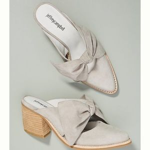 Jeffrey Campbell Bow Mules
